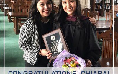 MI Alumni Gets Recognition at Boston College Grad