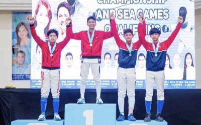 MI Fencers Win in National Open